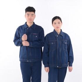 焊工工作服套装电焊防烫劳保服牛仔服加厚耐磨电工汽修