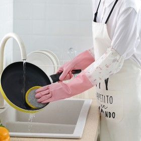 洗碗手套厨房加厚橡胶乳胶洗衣衣服防水塑胶胶皮家耐用