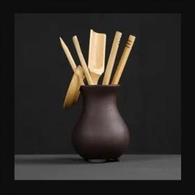 茶道六君子功夫茶具配件茶壶茶艺茶盘泡茶工具茶杯