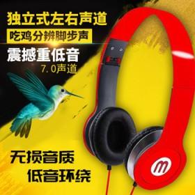 头戴式耳机游戏专用电脑可折叠耳机耳麦