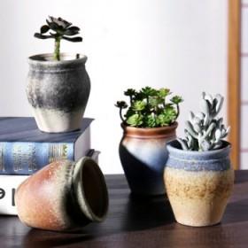 多肉花盆陶瓷粗陶创意简约绿植