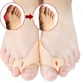 透气脚趾矫正器硅胶拇指外翻大脚骨凸出拇指脚趾矫正器