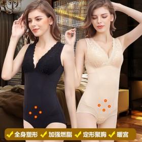 美人计同款加强版连体塑身衣束腰燃脂束身衣