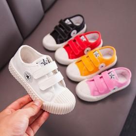 儿童帆布鞋男童女童2019夏季新款韩版板鞋小童宝宝