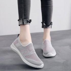 女鞋老北京新针织网布鞋透气网面鞋时尚运动鞋舒适