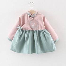 女童汉服连衣裙春装