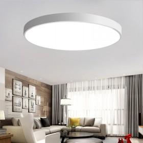 超薄LED吸顶灯50CM带遥控变光36W