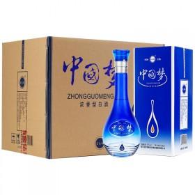 洋河镇中国梦白酒整箱原浆酒52度酒水500ml×6