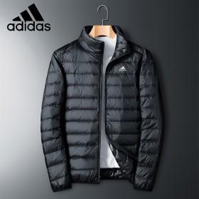 阿迪达斯羽绒服男短款运动休闲外套