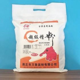 农家5斤装高筋面粉纯小麦粉精粉无添加馒头包子饺子面