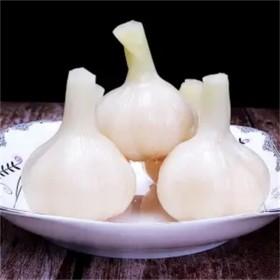 【5斤白糖醋蒜】水晶糖蒜糖醋蒜头优质大蒜头甜脆可口