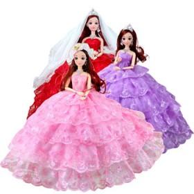 芭比娃娃婚纱大礼盒