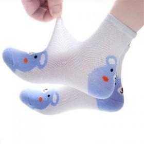 5双装儿童袜子春秋男童中筒袜男孩女孩宝宝童袜男女童