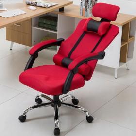电脑椅家用办公椅可躺电竞游戏椅人体工学网布椅子靠背