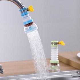 厨房水龙过滤接头防溅头嘴延伸器伸缩过滤器