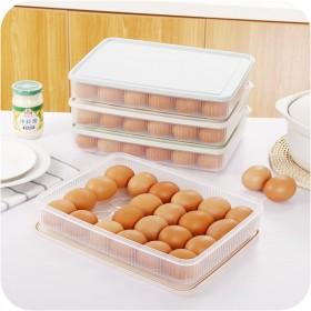 厨房24格鸡蛋盒冰箱保鲜盒鸡蛋收纳盒塑料鸡蛋盒