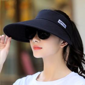 遮阳帽女帽子夏天防晒空顶帽