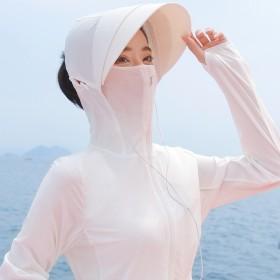 UPF50专业防晒衣女防晒服皮肤衣防晒外套透气薄夏