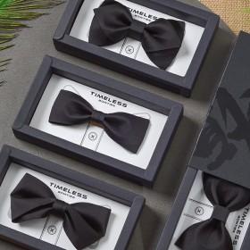 领结男结婚婚礼黑色男士新郎结婚蝴蝶结衬衫个性时尚潮