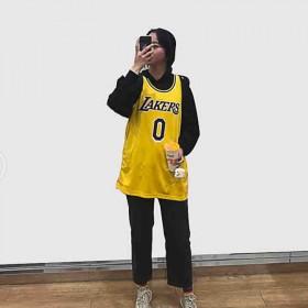 篮球服单件新赛季詹姆斯库兹玛0号球衣学生男女同款