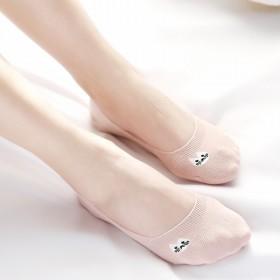 女韩版短袜棉质浅口隐形袜学生船袜硅胶防滑超薄低帮
