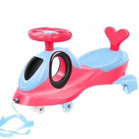 凤凰儿童扭扭车万向轮宝宝摇摆车1-3-6岁滑滑玩具
