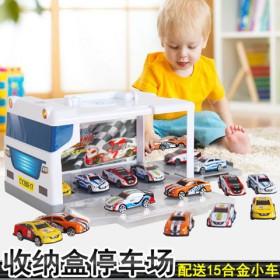 20辆精致迷你合金小汽车回力小车儿童玩具车模型玩具