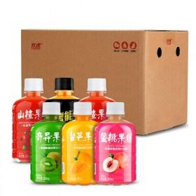 网红山楂果园350ml果蔬果汁饮料汁奇异台芒果饮料