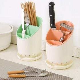 塑料沥水筷子架勺子置物架筷笼多功能厨房收纳架筷子筒