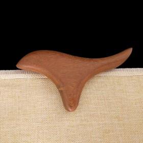 金丝檀木鸡翅木按摩三角雀