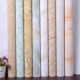 大理石纹理壁纸厨房防油污家具翻新贴纸2米x60cm