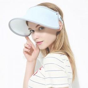 遮阳帽女户外骑车遮阳防晒女士帽子赠冰袖