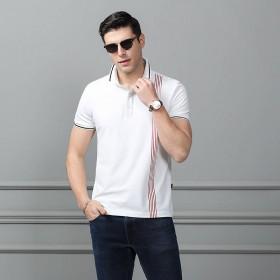 高品质95棉男士POLO衫短袖韩版男装T恤打底衫潮