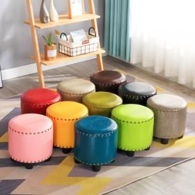 家用小凳子门口换鞋凳创意圆凳小凳子ins北欧