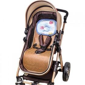 婴儿车凉席 推车通用席垫