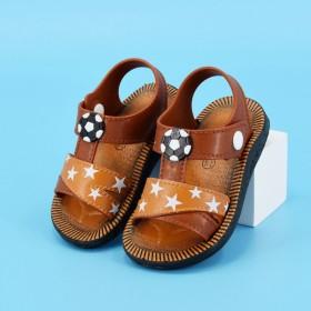 夏季男孩小童软底凉鞋1件