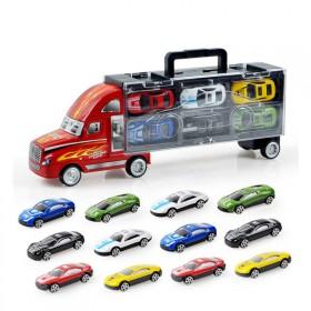 儿童模型货柜车仿真小汽车玩具车男孩玩具