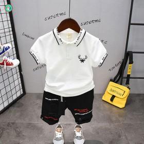童装男童短袖套装洋气韩版儿童夏装2020新款小童夏