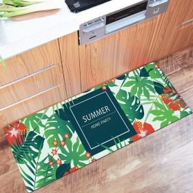 厨房地垫长条防滑防油吸水拼接脚垫家用床边卫生间进门