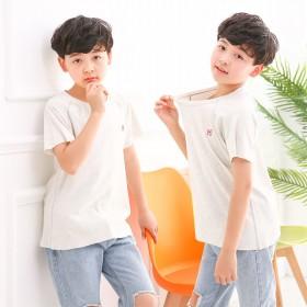 【儿童短袖95棉】男童短袖T恤舒适宽松版型儿童短袖