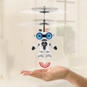 儿童玩具机器人遥控手柄飞机感应飞行器直升机防撞耐摔