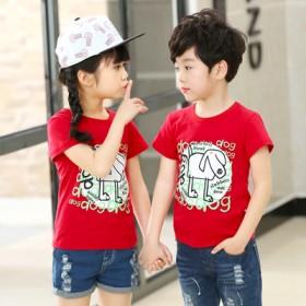 【A类纯棉】儿童印花短袖T恤