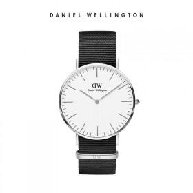 礼物DW丹尼尔惠灵顿 手表新款欧美简约尼龙表带