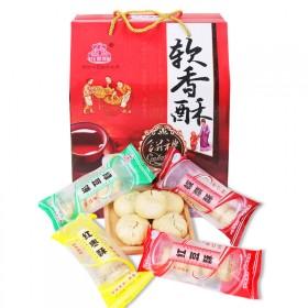 【50枚】绿豆糕点绿豆饼早餐零食红豆板栗多种口味(