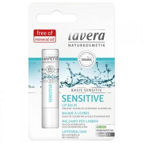 德国拉薇有机荷荷巴零敏保湿润唇膏夏季补水儿童孕妇滋