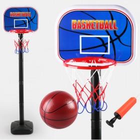 儿童玩具可升降篮球架×篮球×打气筒