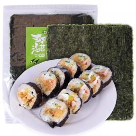 10张寿司海苔紫菜包饭大片装