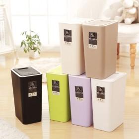 垃圾桶家用带盖便宜卫生间大号客厅可爱厨房特价纸篓按