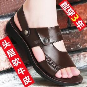 新款 凉鞋 开车鞋 拖鞋 头层牛皮