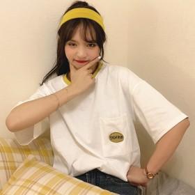 2020年韩版大码女装夏季短袖t恤胖mm宽松白色